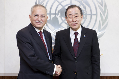 Secretary-General Meets Head of Organization of Islamic Cooperation
