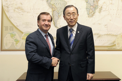 Secretary-General Meets Head of US House Foreign Affairs Committee