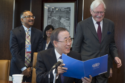 Senior UN Officials Sign Annual Accountability Compacts