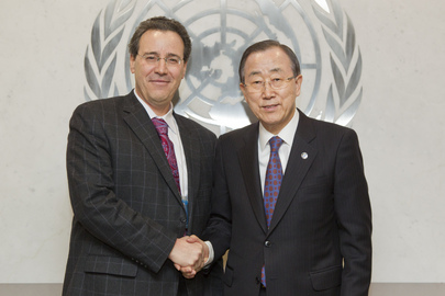 Secretary-General Meets Head of Budget Committee