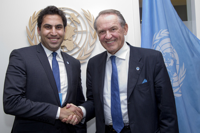 Deputy Secretary-General Meets UN Envoy on Youth
