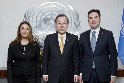 Secretary-General Meets Co-Regents of San Marino