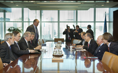 Secretary-General Meets Foreign Minister of Greece