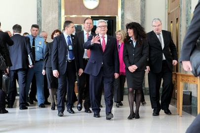 President of Germany Visits UNOG