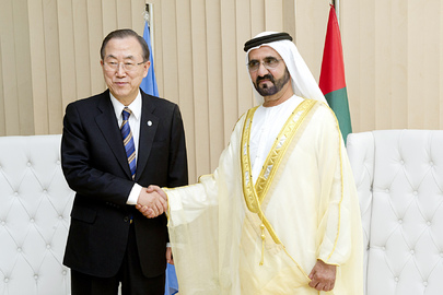 Secretary-General Meets Vice President of UAE
