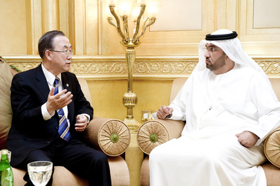 Secretary-General Meets With Special Envoy for Energy and Climate Change for UAE