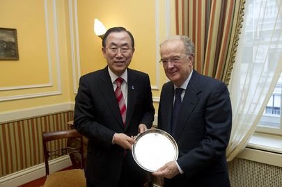 Secretary-General Meets Alliance of Civilizations High Representative