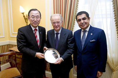 Secretary-General Meets Alliance of Civilizations High Representatives