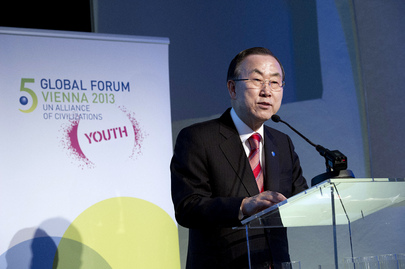 Secretary-General at Alliance of Civilizations Youth Event