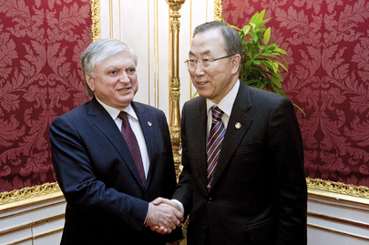 Secretary-General Meets Foreign Minister of Armenia