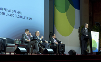 Opening of Alliance of Civilizations Fifth Global Forum