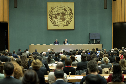 Secretary-General Meets UNOG Staff