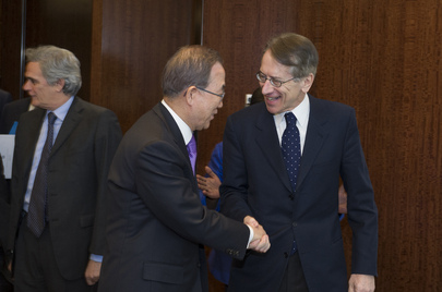 Secretary-General Meets Foreign Minister of Italy