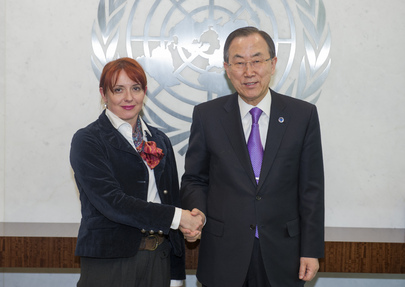 Secretary-General Meets Bosnian Deputy Foreign Minister