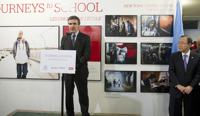 "Launch of ""Journeys to School"" Photo Exhibit"
