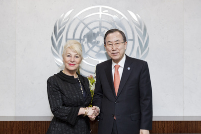 Secretary-General Meets Chair of CEDAW
