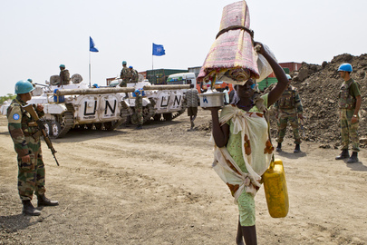 Residents of Pibor Seek Refuge at UNMISS Base