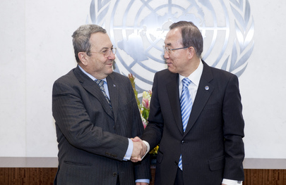 Secretary-General Meets Israeli Defense Minister
