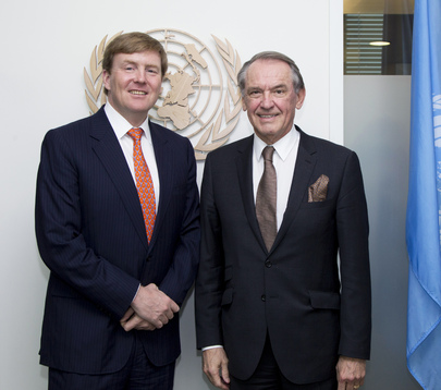 Deputy Secretary-General Meets Dutch Crown Prince, Chair of UN Water and Sanitation Board