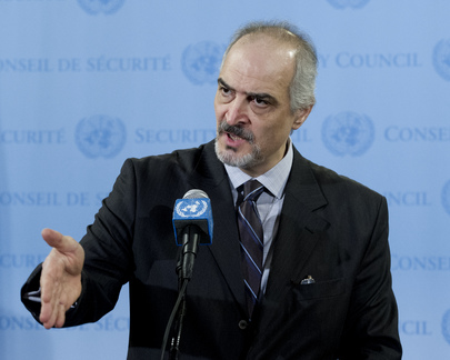 Syrian Representative Briefs Press on Detained UNDOF Peacekeepers