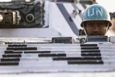 UNMISS Peacekeeper in Pibor, Jonglei State