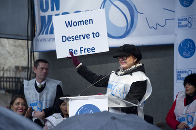"""UN Women for Peace"" March Marking International Women's Day"