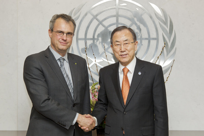 Secretary-General Meets Head of FAO Forestry