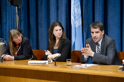 Press Briefing on UN Global Survey for Better World
