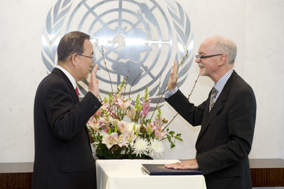 New Head of UN University Sworn In