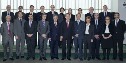 Secretary-General Meets Representatives of EU Political and Security Committee
