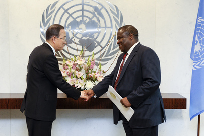 Permanent Representative of South Africa Presents Credentials
