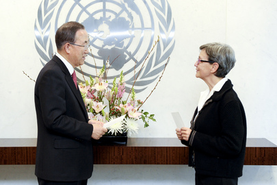Permanent Representative of Belgium Presents Credentials