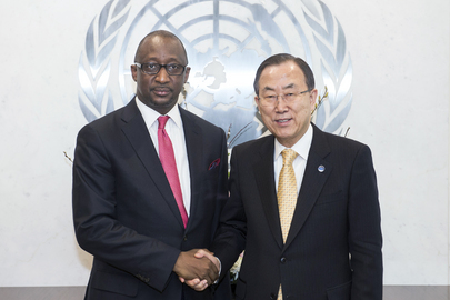 Secretary-General Meets Foreign Minister of Mali