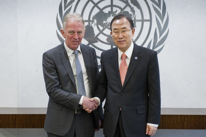 Secretary-General Meets Foreign Minister of Denmark