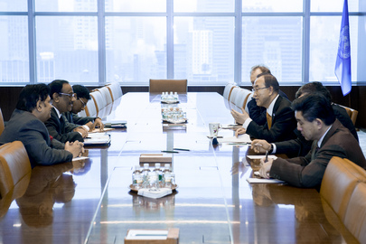 Secretary-General Meets Foreign Secretary of Bangladesh