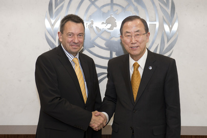 Secretary-General Meets Head of Red Cross