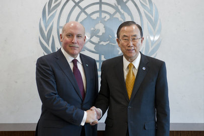 Secretary-General Meets Head of Shanghai Cooperation Organization