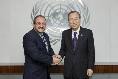 Secretary-General Meets Foreign Minister of Guatemala
