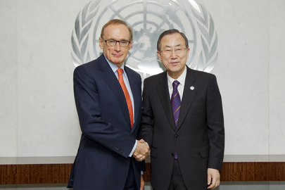 Secretary-General Meets Foreign Minister of Australia