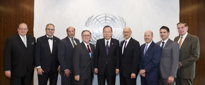 Secretary-General Meets Leaders of B'nai B'rith International
