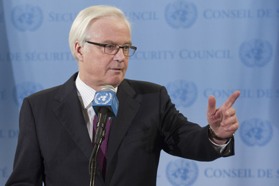 Council President Briefs Press on Central African Republic, Syria
