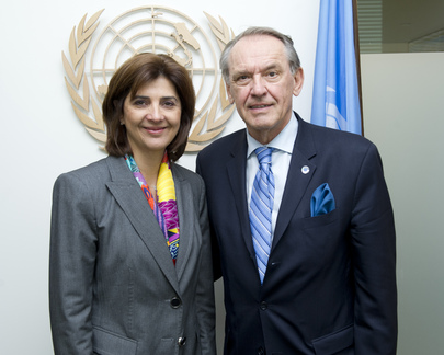 Deputy Secretary-General Meets with Foreign Minister of Colombia