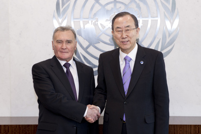 Secretary-General Meets Prime Minister of Tajikistan