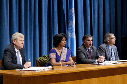 Press Conference on Definition of Water Security
