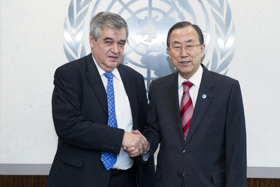 Secretary-General Meets Acting Assistant Head of WFP