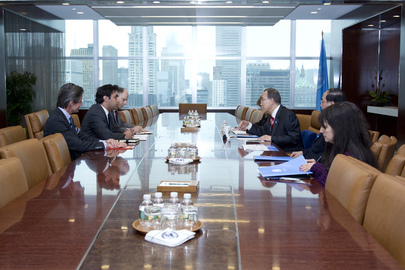 Secretary-General Meets Youth Envoy