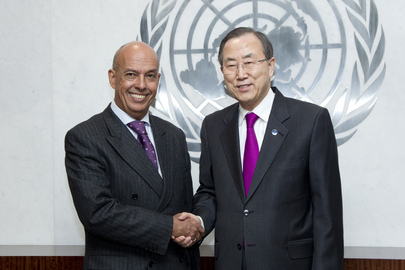 Secretary-General Meets Deputy Foreign Minister of Peru