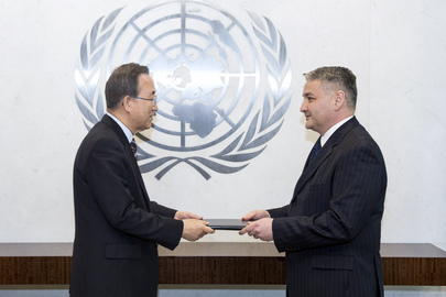 Permanent Representative of Uzbekistan Presents Credentials