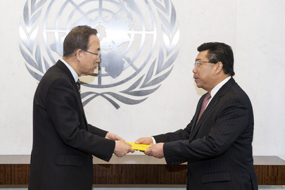 Permanent Representative of Brunei Darussalam Presents Credentials