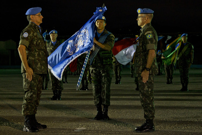 MINUSTAH Force Commander Handover Ceremony
